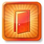 15419646-orange-exit-door-icon